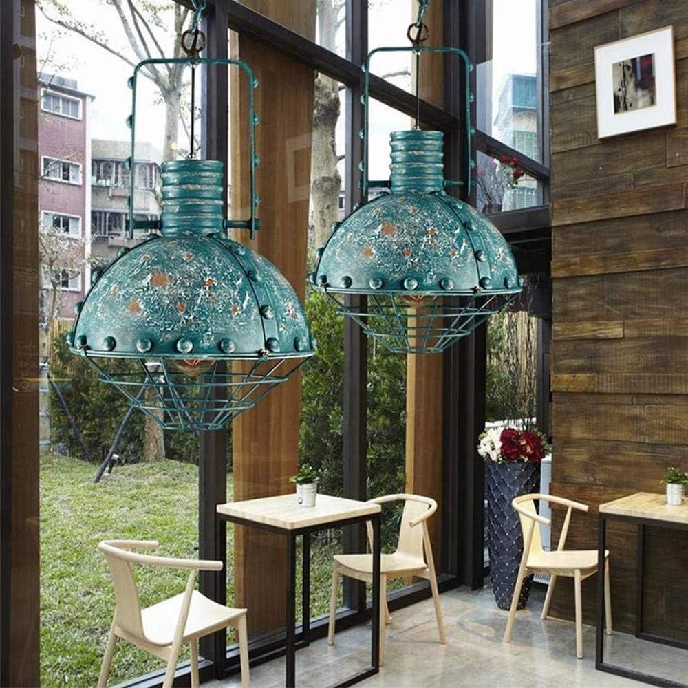 Araña de luces Luces colgantes industriales vintage Red de hierro ...
