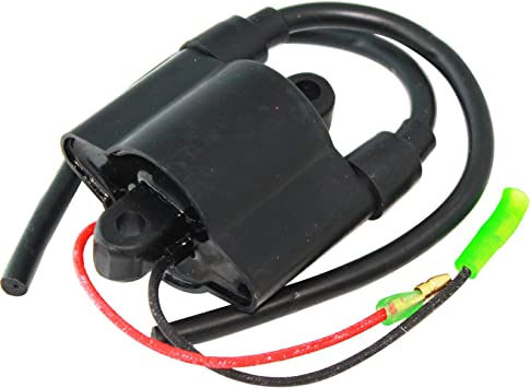IGNITION COIL Fits YAMAHA OUTBOARD 25HP 25 HP ENGINE 2005 2006 65W-85570-01-00