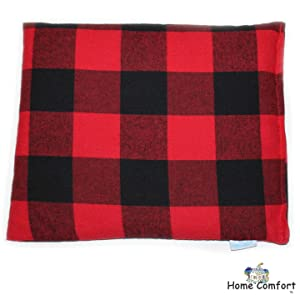 Microwaveable Heating Pad (Red Plaid)