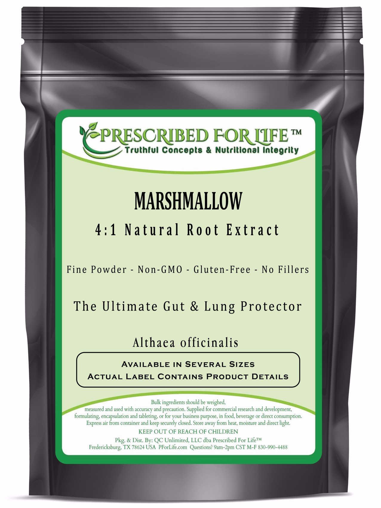 Marshmallow - 4:1 Natural Root Extract Powder (Althaea officinalis), 12 oz