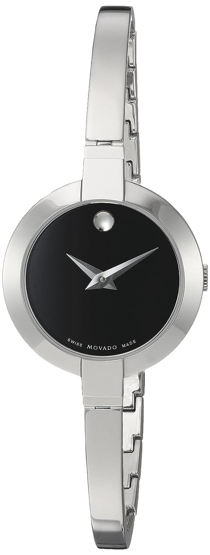 Movado Women s 0606595 Bela Stainless Steel Bangle Watch