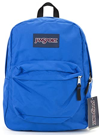 Amazon.com: Jansport Superbreak Backpack (Blue Streak): Garden ...