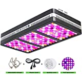 BESTVA Reflector Series 2000W LED Grow Light Full Spectrum Grow Lamp for Hydroponic Indoor Plants Veg and Flower (Elite-2000w)
