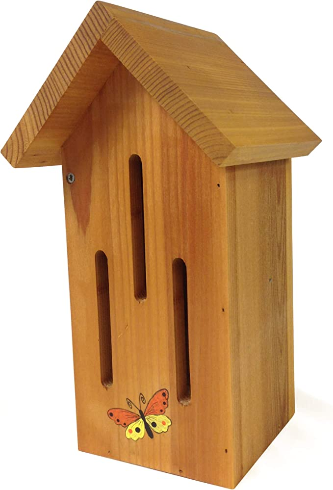 Giant 29 Inches Tall Hand-Made in Wisconsin for Your Flower Garden Round Butterfly House