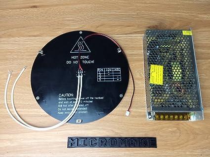 afinibot Impresora 3d partes Impresora calor cama con fuente de ...