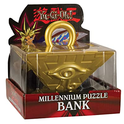 USAOPOLY Yu-Gi-Oh Millennium Collector's Coin Bank Puzzle: Toys & Games