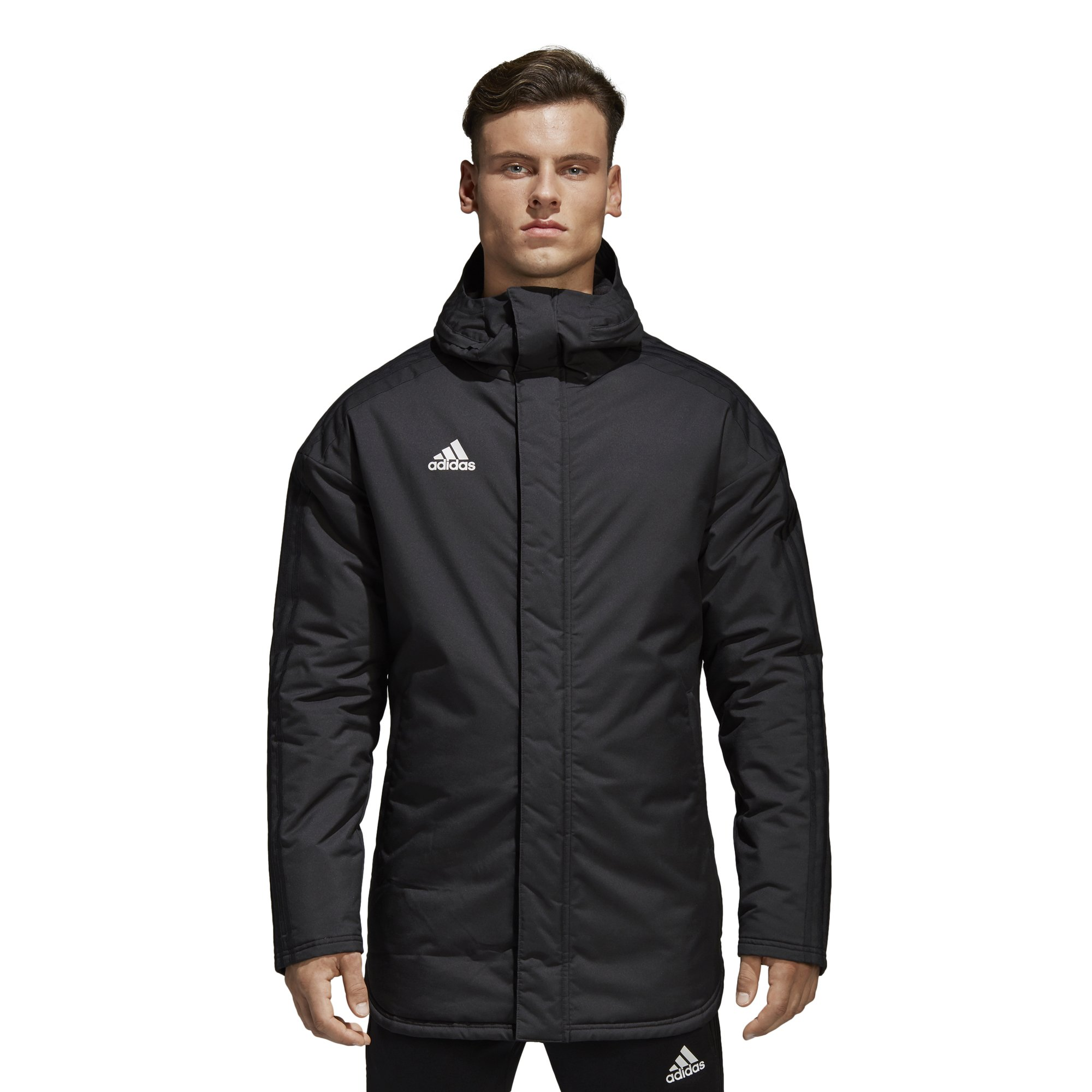 adidas Men's Soccer Condivo 18 Stadium Parka Jacket (X-Large) by adidas