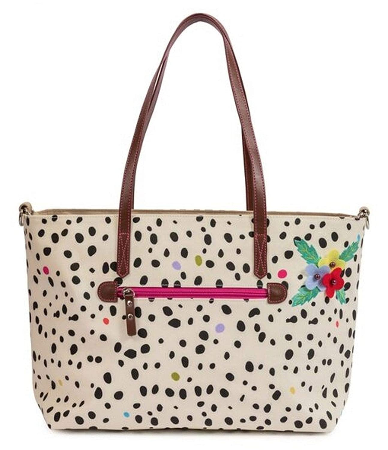 PINK LINING NOTTINGHILL TOTE DALMATION FEVER