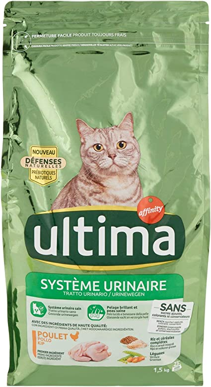 3.4 kg Ultima Cibo Umido per Gatti per Prevenire Problemi alle Vie Urinarie