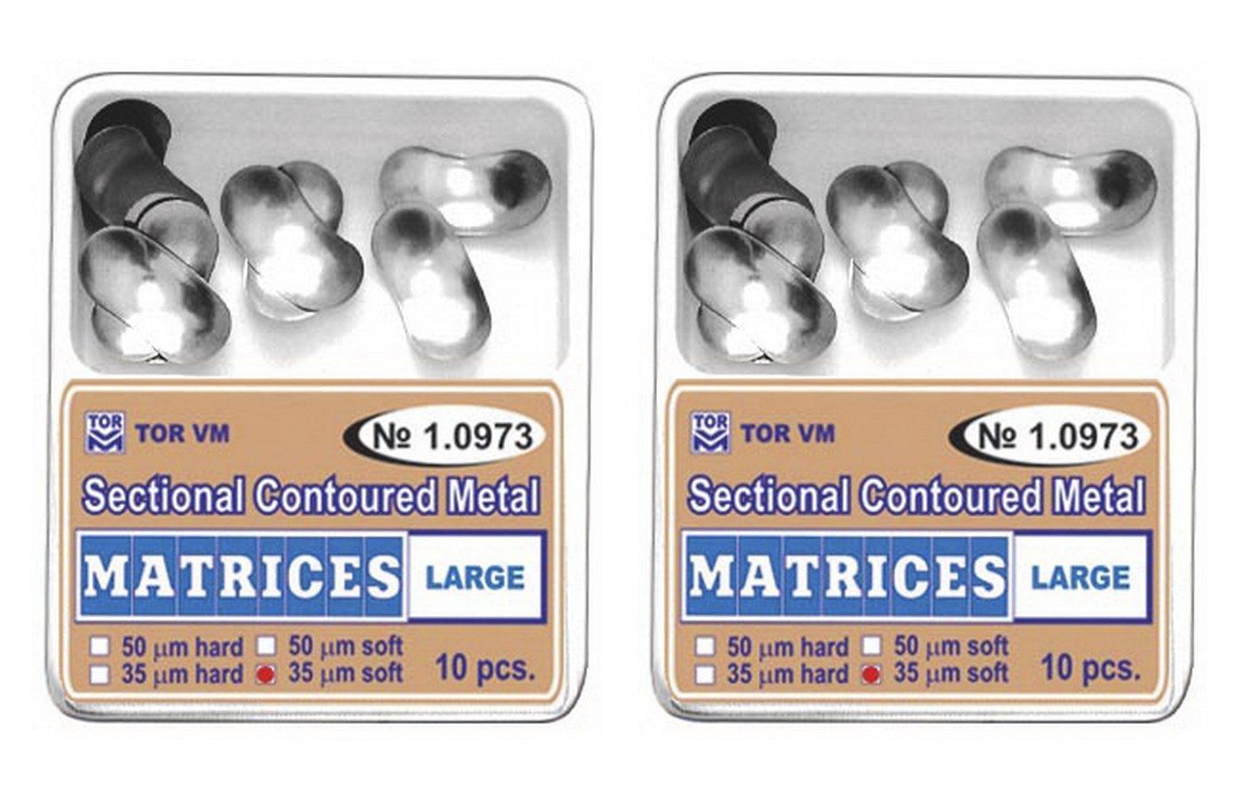 Dental Large Sectional Contoured Matrices Matrix TOR VM (20 pcs)