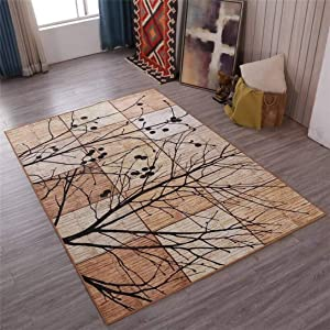 New European Classic Retro Carpets Fashion Simple Floor Mats Absorbent Non-Slip Rugs for Living Room Bedroom