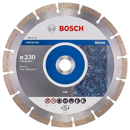 8 opinioni per Disco diamantato Professional For STONE 230 Bosch