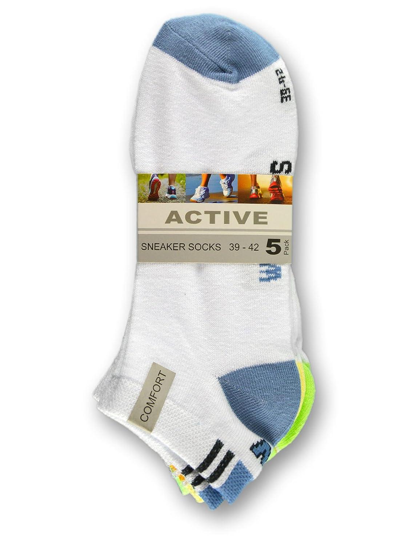 36824 10 Paar Damen Sneaker Socken Wellness Baumwolle Sportsocken Damensocken sockenkauf24