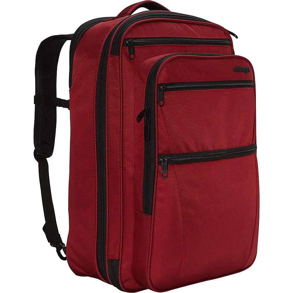 eBags eTech 3.0 Carry-on Travel Backpack (Crimson Red) by eBags