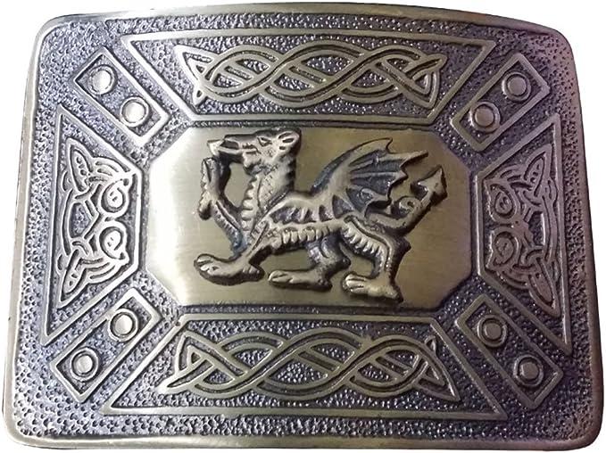 Brand New Men Celtic Kilts Belt Buckle Antique brass Finish Celtic Knot