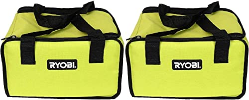 2 Ryobi Tool Bags Cases For Cordless Drill Jigsaw Kit 12x9x7 Bags Only