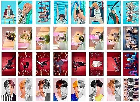 yovvin 32 Pack BTS Foto Tarjetas, Kpop bangtan Joven [Love Your ...