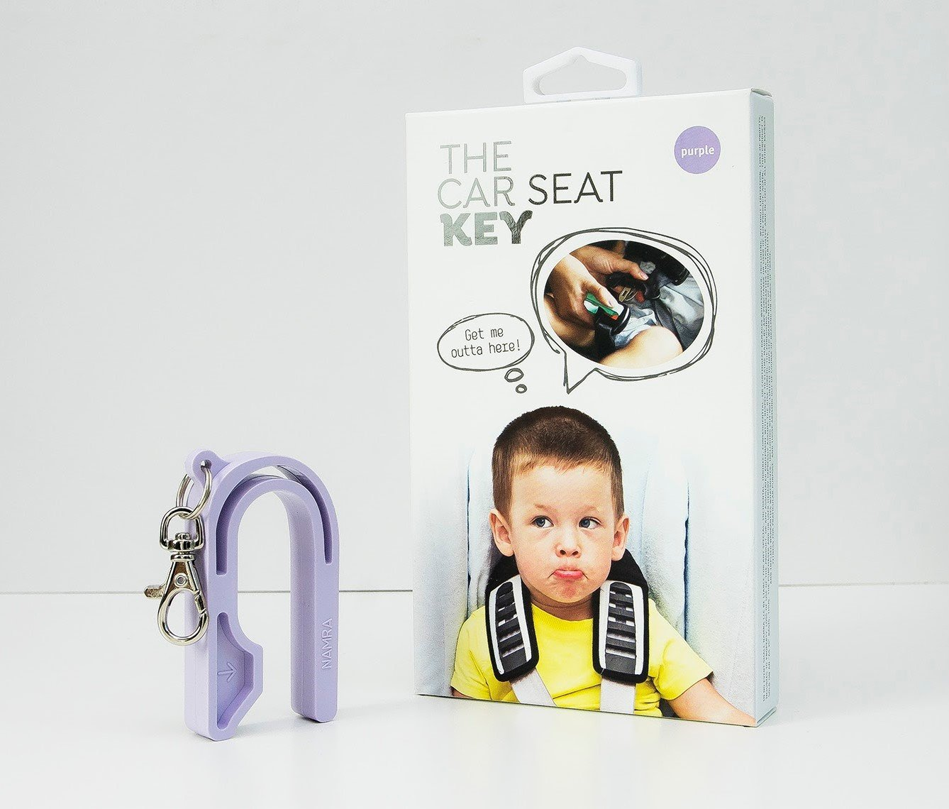 LEIWOOR 3Pcs Baby Car Seat Key Unbuckle Tool,Baby Carseat Opener,Car Seat Key Easy Way to Unbuckle Carseats Helps Kids