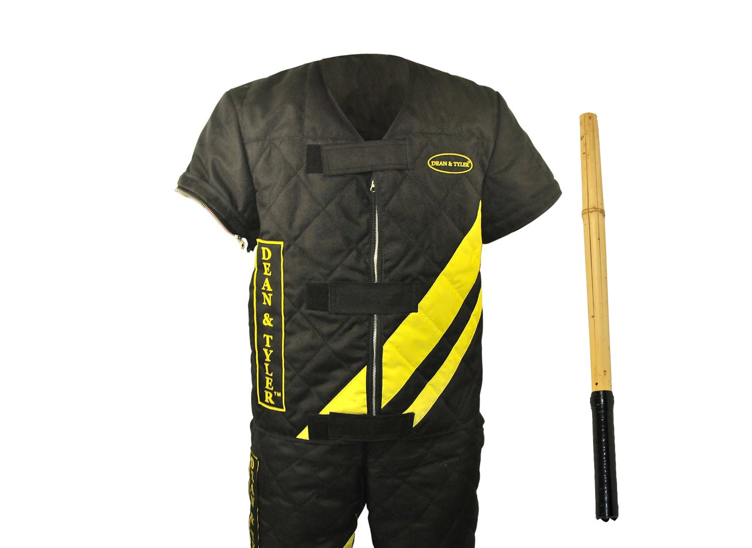 Dean & Tyler 2-Piece Pro Bundle Set, Includes XX-Large Scratch Jacket Agitation Stick for Training Fully Grown Dogs