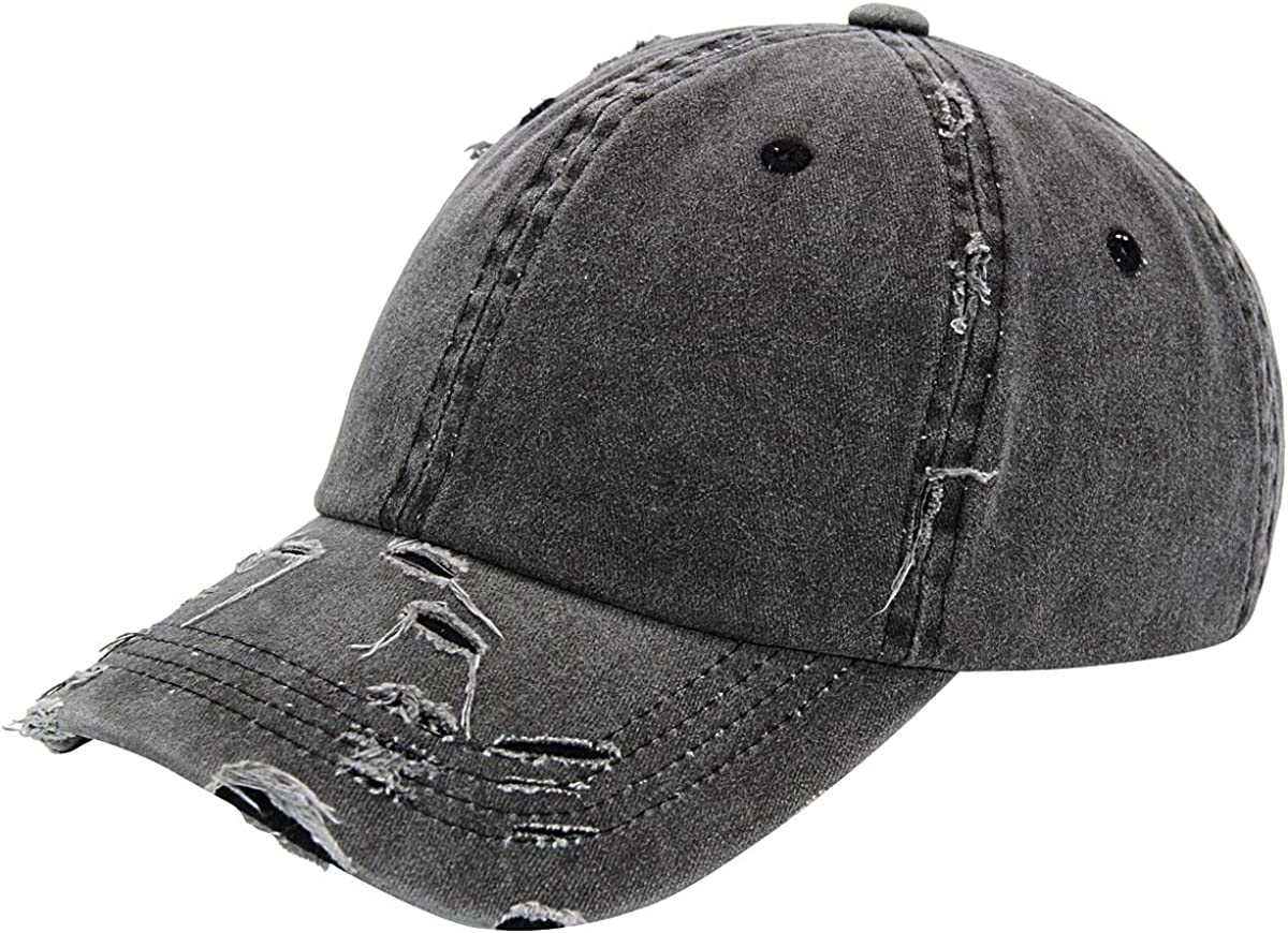 US Mens Womens Ladies Baseball Cap Brushed Cotton Plain Sports Summer Hat