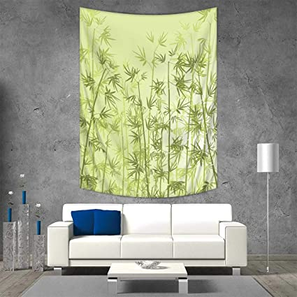 Amazon Com Anhuthree Forest Art Wall Decor Tropical Style