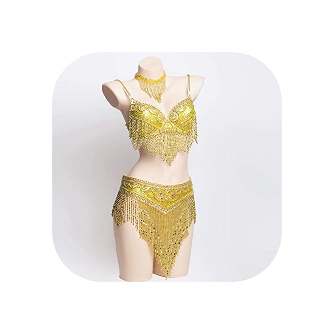 Amazon com: Belly Dance Costume Sexy Bellydance Carnival Set