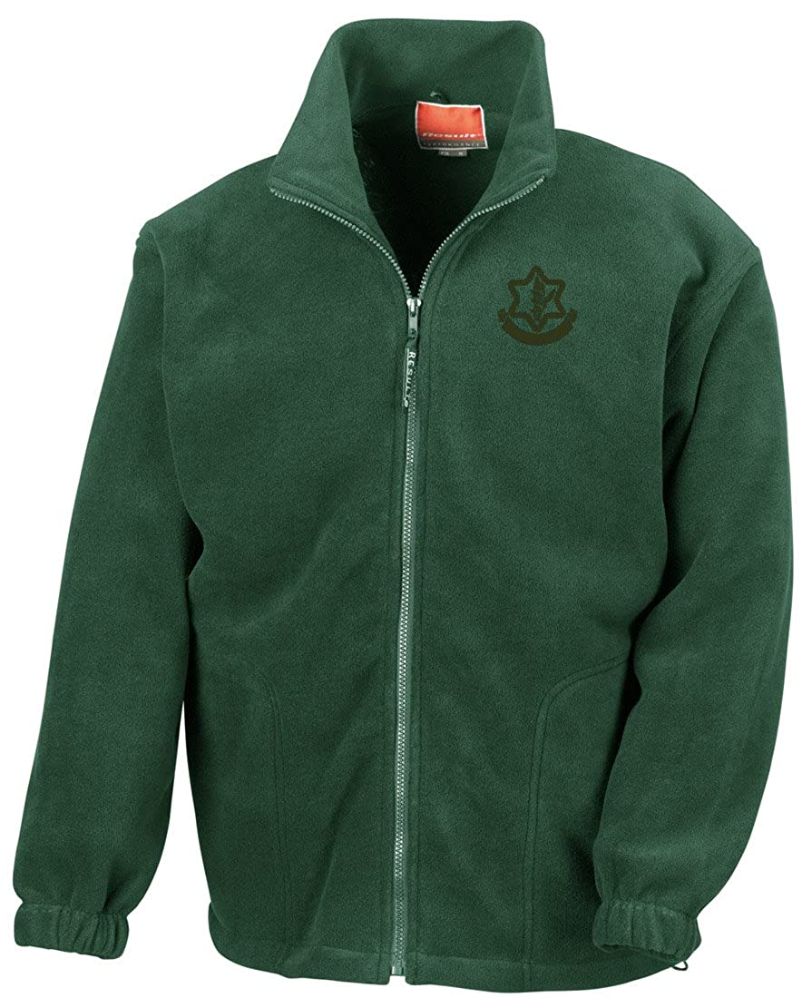 Isreali Defense Force IDF Embroidered Logo - Full Zip Fleece By Military online
