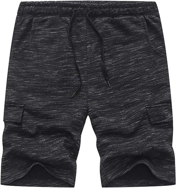 BINPAW Boys Casual Drawstring Sweat Shorts