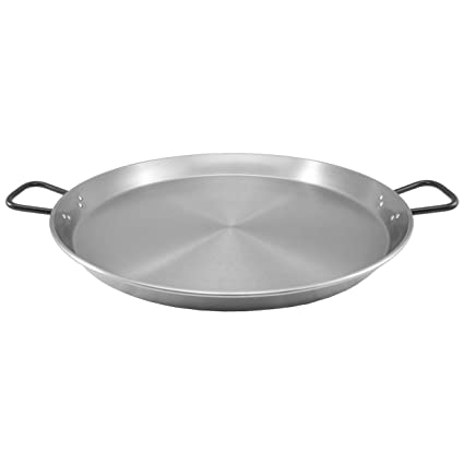 Amazon.com: Muurikka 01010161 Paella Pan, 70 cm, Steel ...