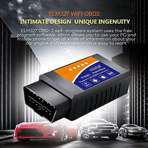 Wsiiroon WIFI OBD scanner is one of the best ELM327 adapter that works on ALL 1996 and newer PETROL cars sold in the United States
