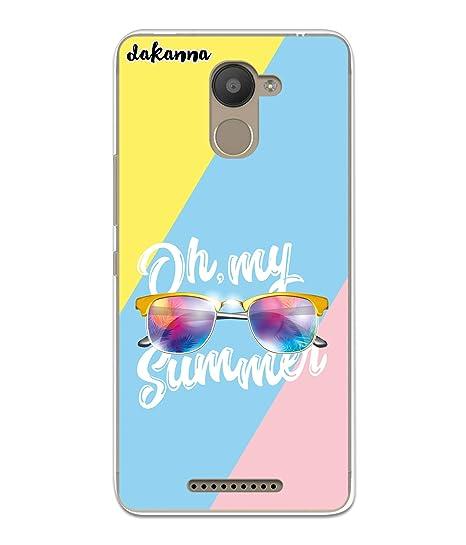 dakanna Funda para BQ Aquaris U Plus | Gafas de Sol Summer ...
