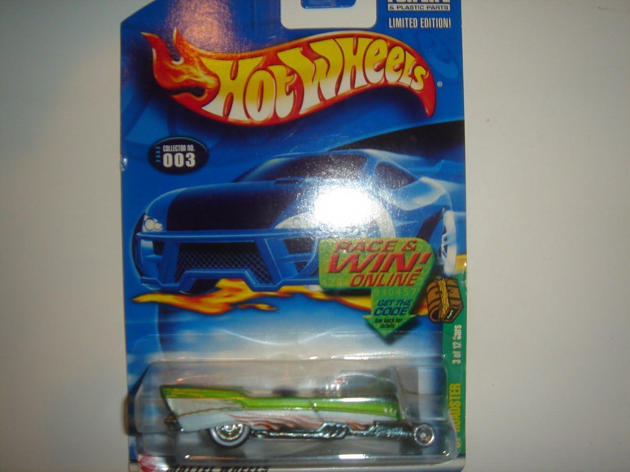 2002 Hot Wheels Treasure Hunt /'57 Roadster