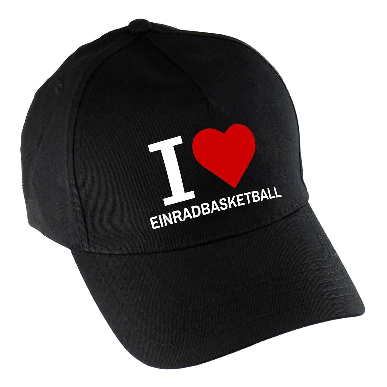 Gorra de béisbol I Love monociclo baloncesto negro: Amazon.es ...