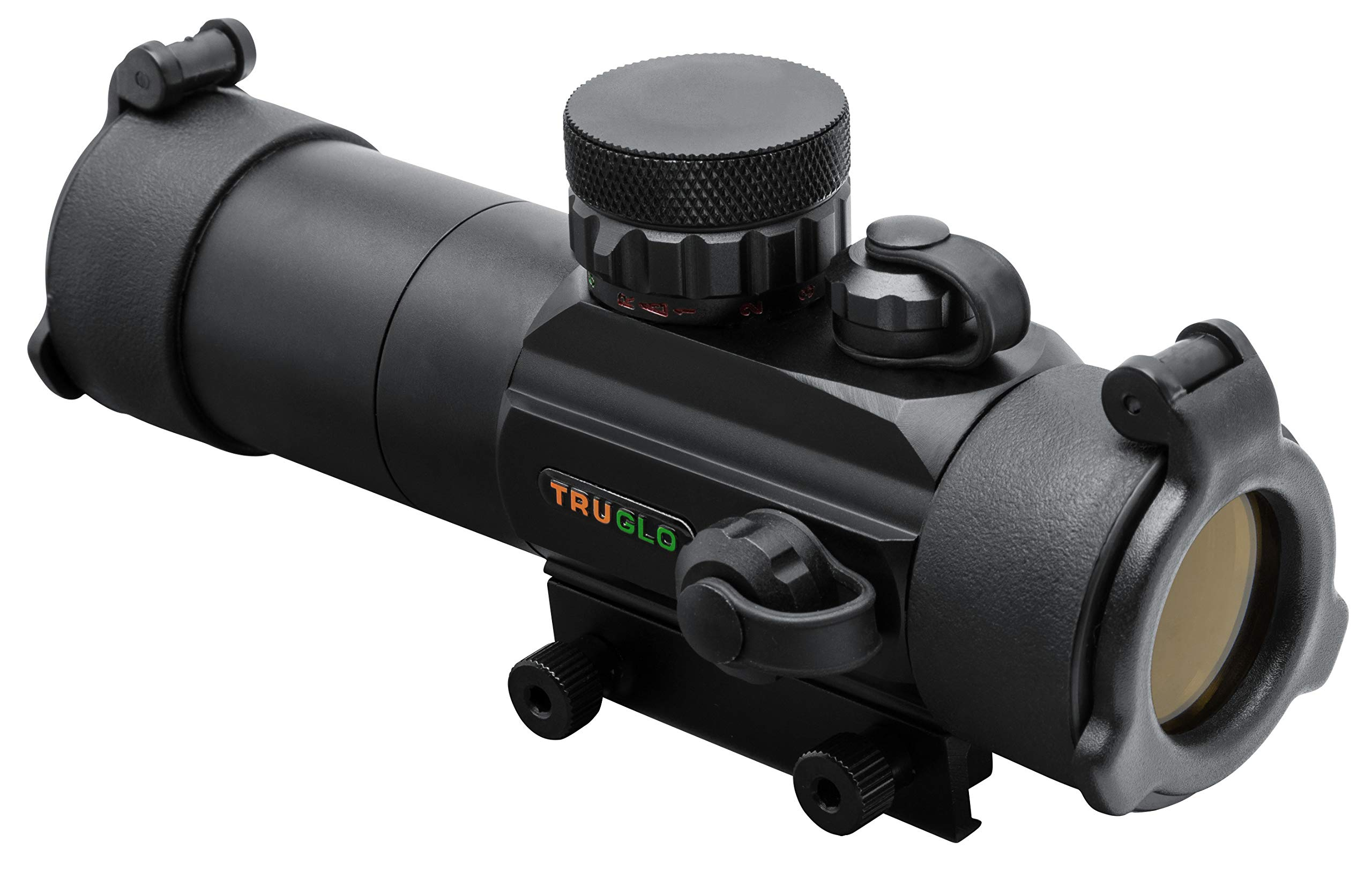 TRUGLO Red-Dot Sight 30mm Gobble-Dot Dual-Color Black by TRUGLO
