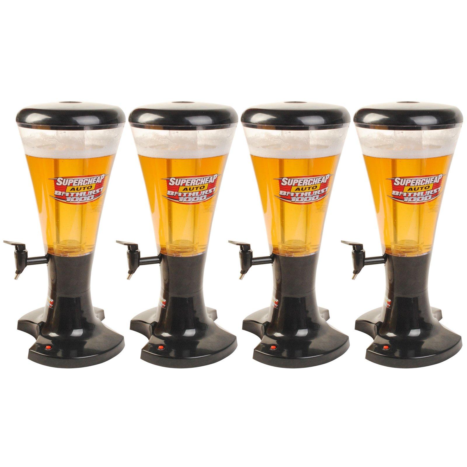 Goplus 3L Cold Draft Beer Tower Beverage Dispenser with LED Lights New (4)