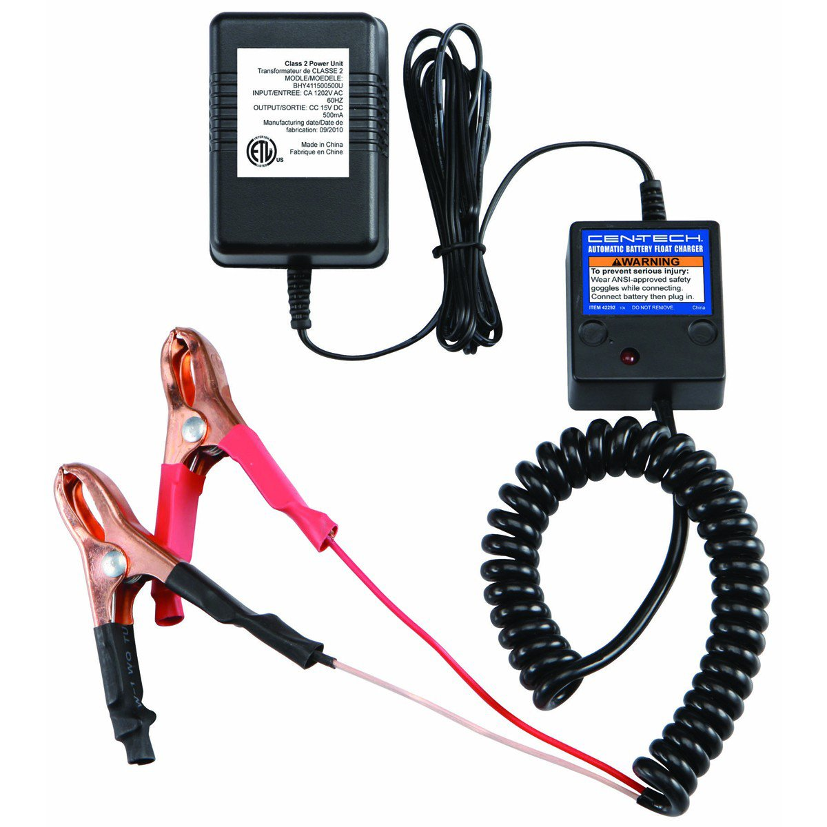 Amazon.com: 12 Volt Automatic Battery Float Trickle Charger by Cen-Tech:  Electronics