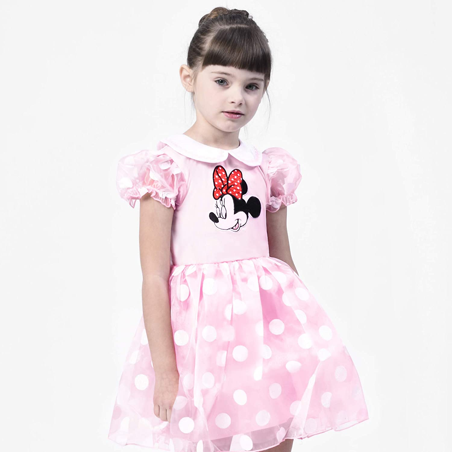 BIEKOV Girls Princess Dress up Costume Little Kids Pretend Play Outfit Birthday Gift
