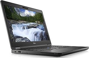 Dell Latitude 14-5490 Intel Core i5-8350U X4 1.7GHz 16GB 256GB SSD, Black (Certified Refurbished)