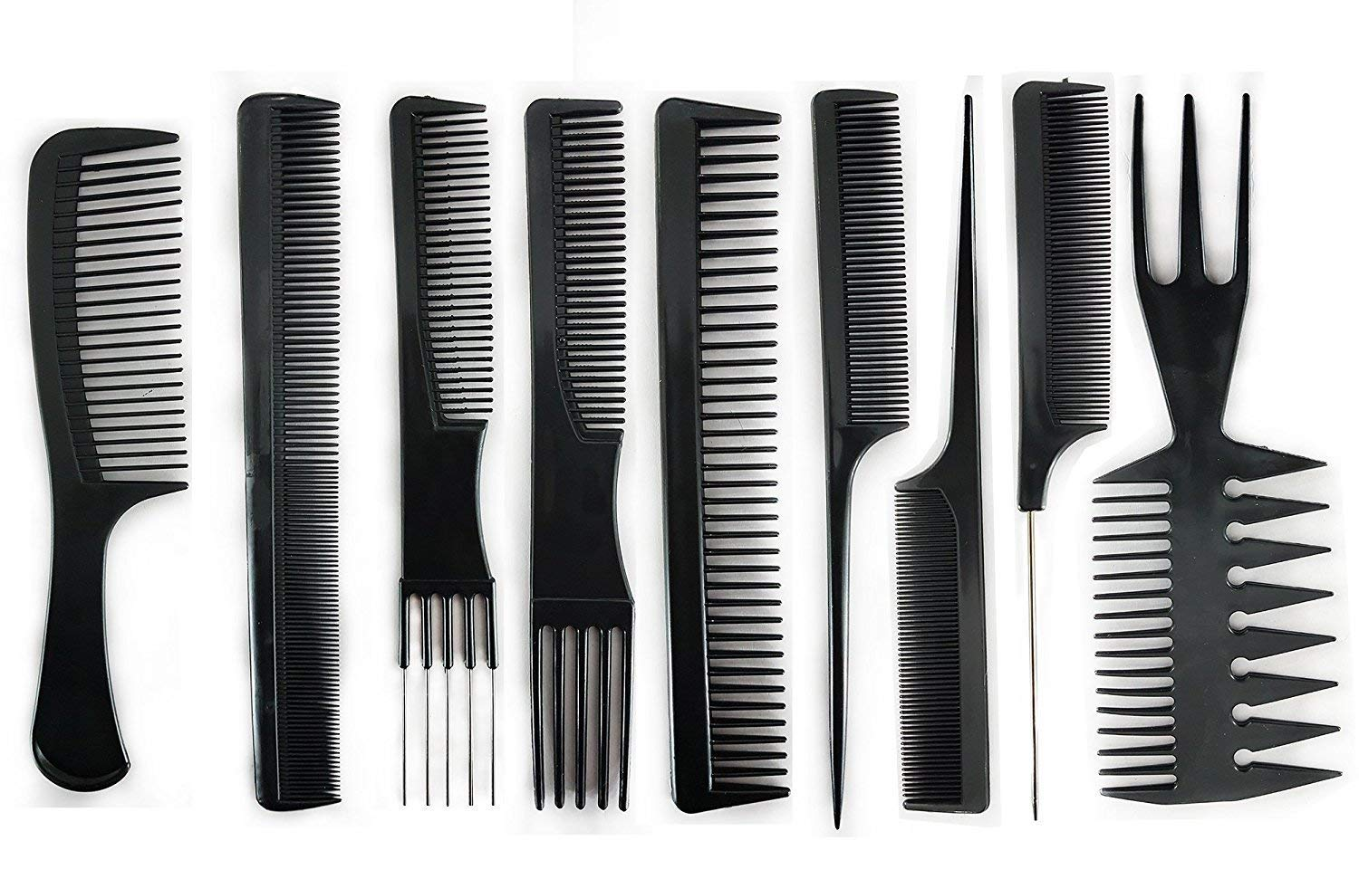 Buy Prime 9 Pcs Comb Set Of Hair Style Comb For Women, Comb For Men, Comb For Hair Style, Black, 30 Gram, Pack Of 1 Online at Low Prices in India - Amazon.in