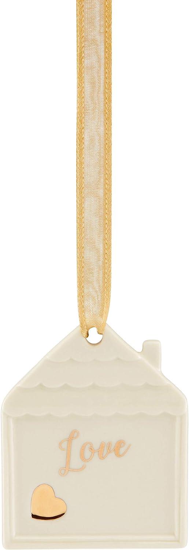 Lenox Love Home Charm Ornament, 0.12 LB, Multi