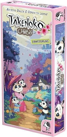 Pegasus Spiele 57016G Takenoko Chibis - Juego de Mesa (extensión): Amazon.es: Juguetes y juegos