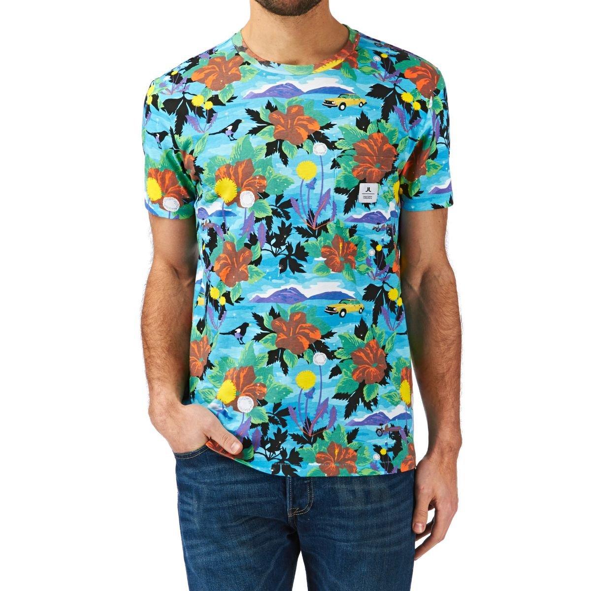WESC Herren T-Shirt Sarek Hawaii