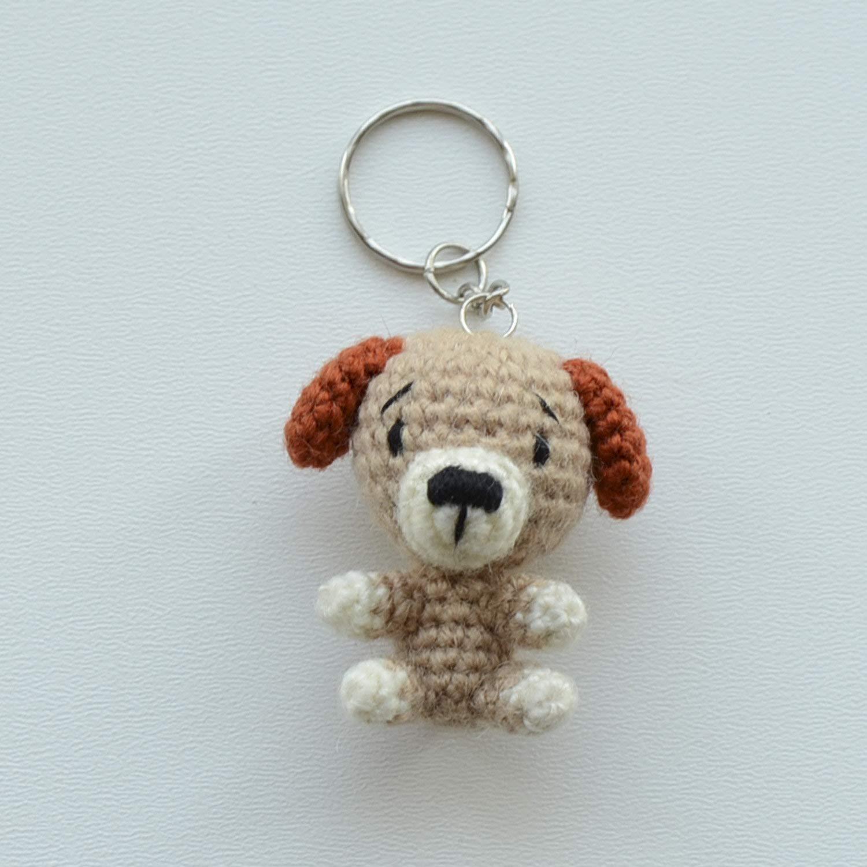 Amigurumi Dog Key Chain | 1500x1500