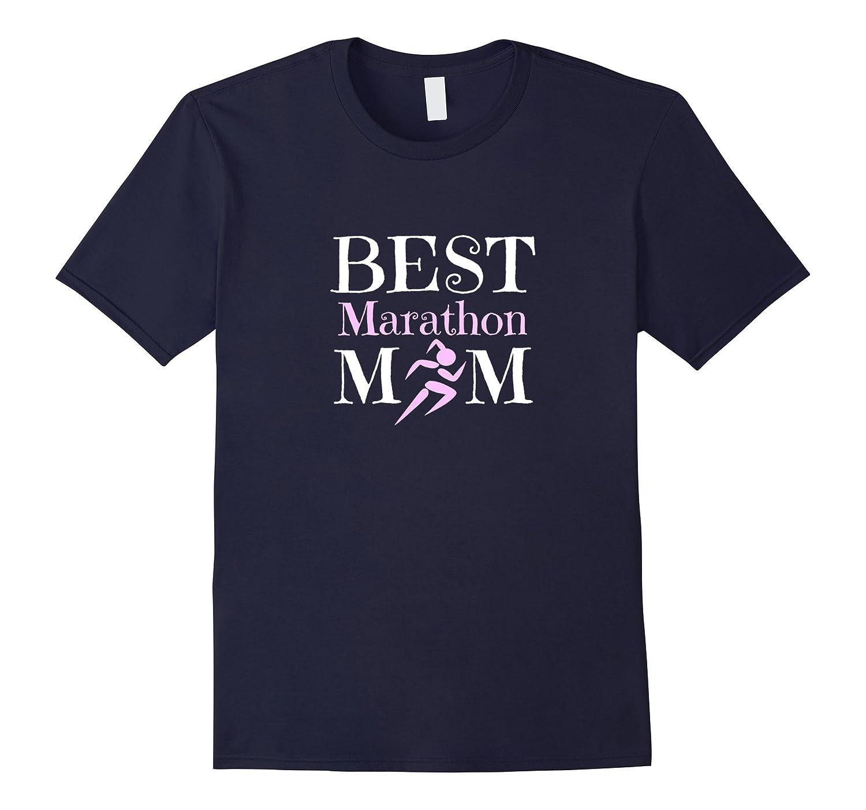 Best Marathon Runner Mom TShirt-TH
