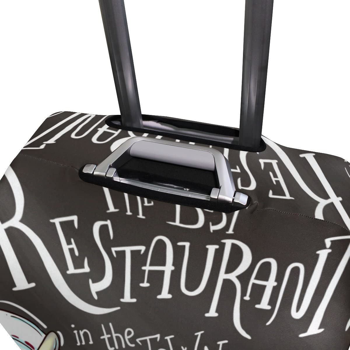 Elastic Travel Luggage Cover The Best Restaurant Suitcase Protector for 18-20 Inch Luggage