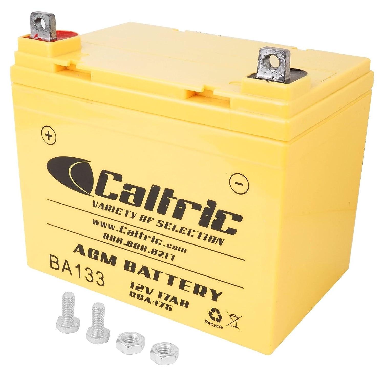 CALTRIC AGM BATTERY Fits JOHN DEERE G110 L100 L110 L111 L120 L130 LT170 LAWN TRACTOR