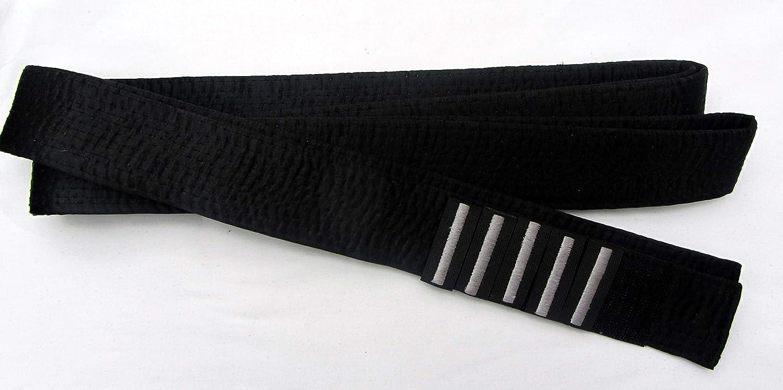 Sat/én Japon/és Bordado K/árate master-seda 300cm Cintur/ón Negro