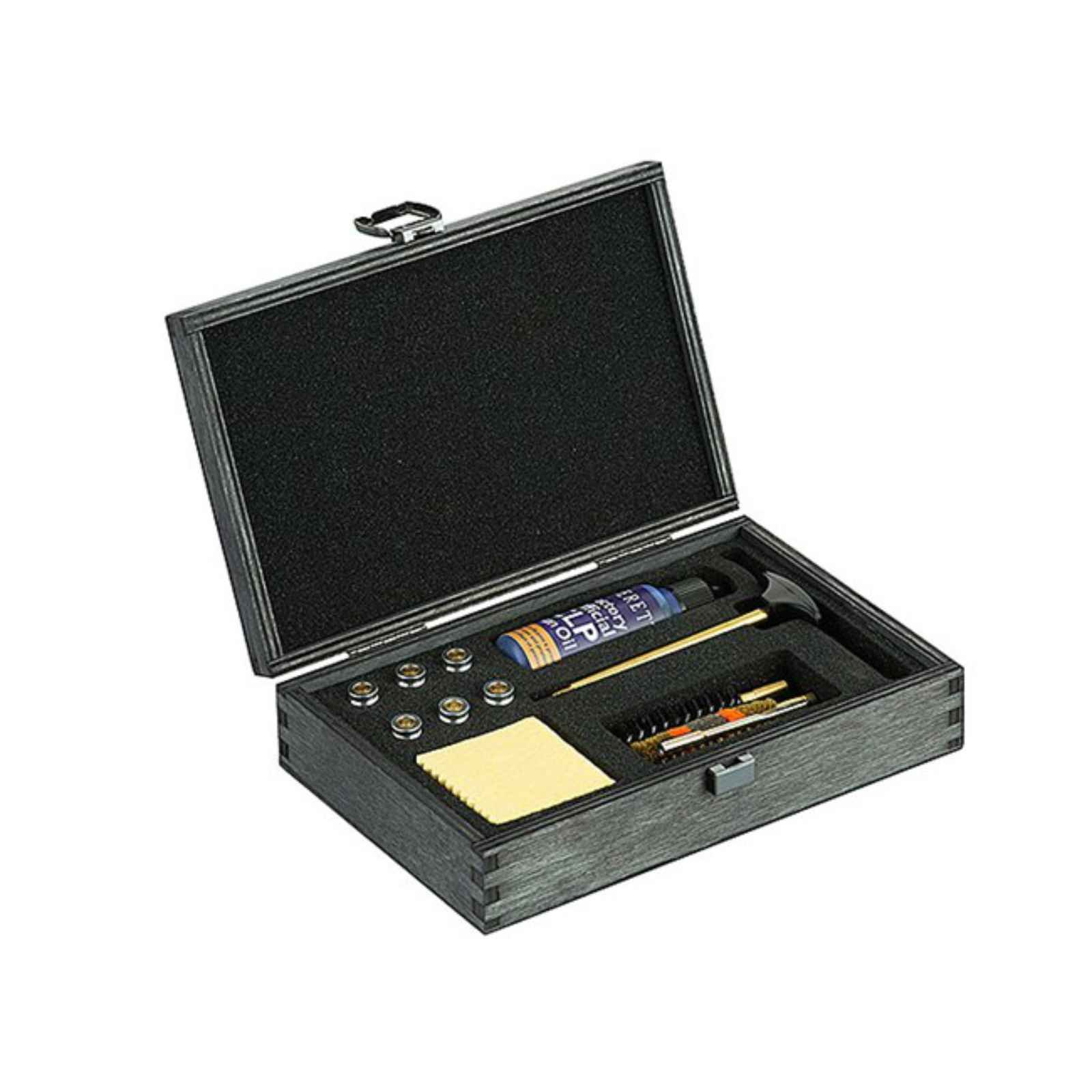 Beretta Deluxe 9MM Pistol Cleaning Kit, Wooden Box