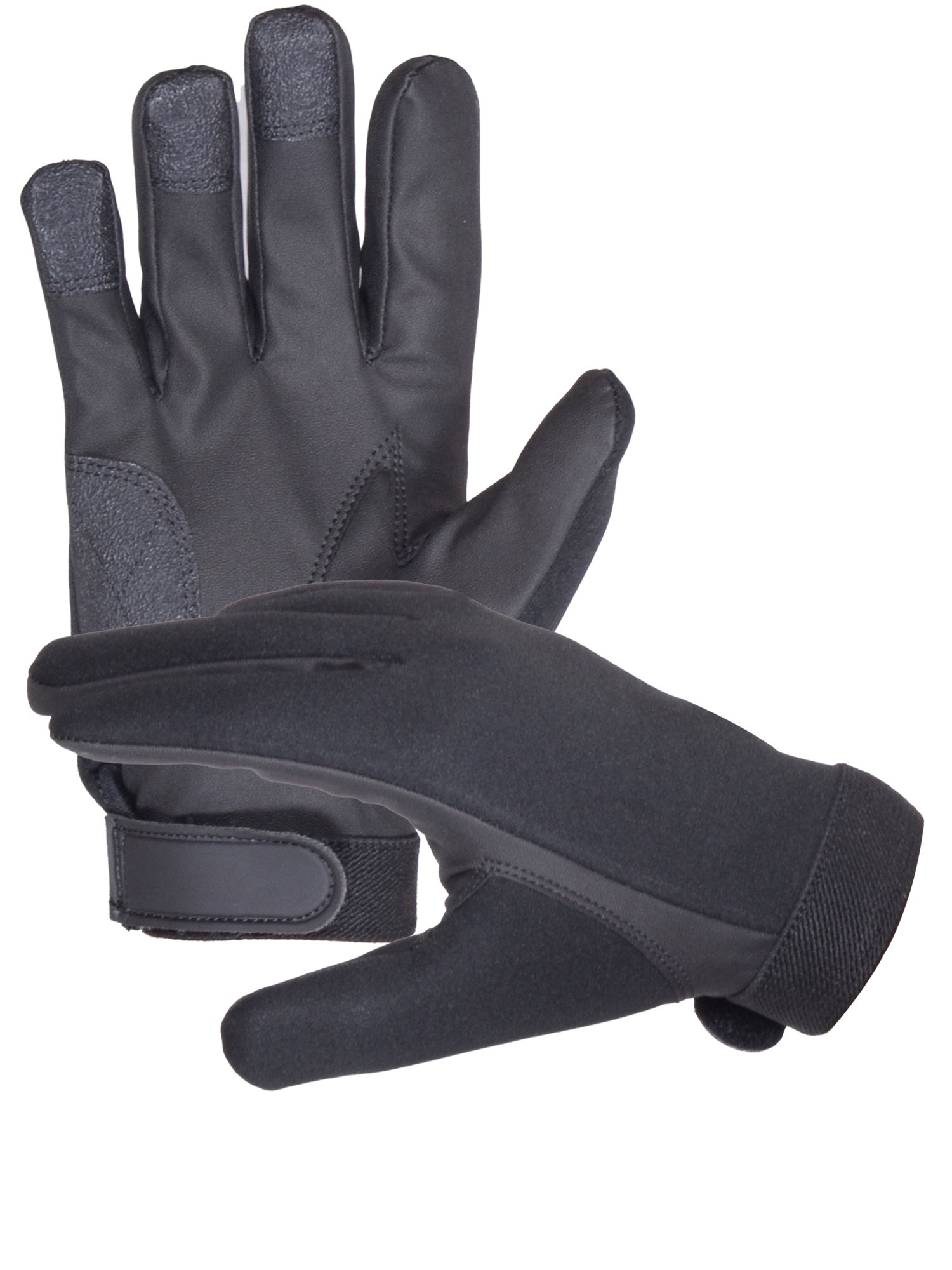 Neoprene Police Search Shooting Tactical gloves (Large)