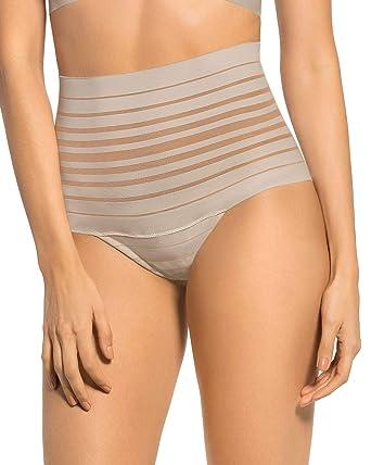 415b41489 Leonisa Women s Sexy High Waist Rear Enhancing Thong Panty at Amazon Women s  Clothing store